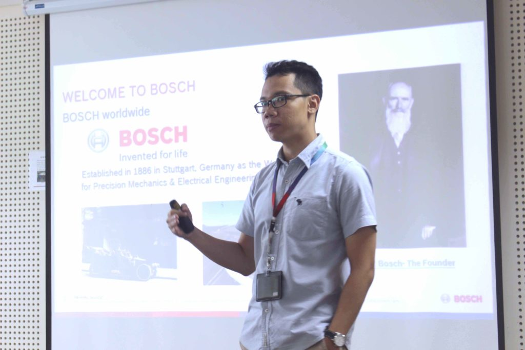 What is the working environment at Bosch like?