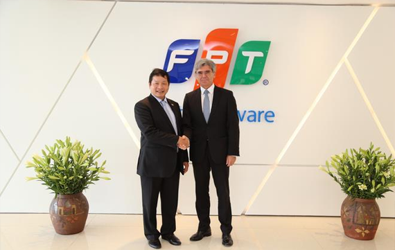 Affirming FPT's position in the eyes of global partners