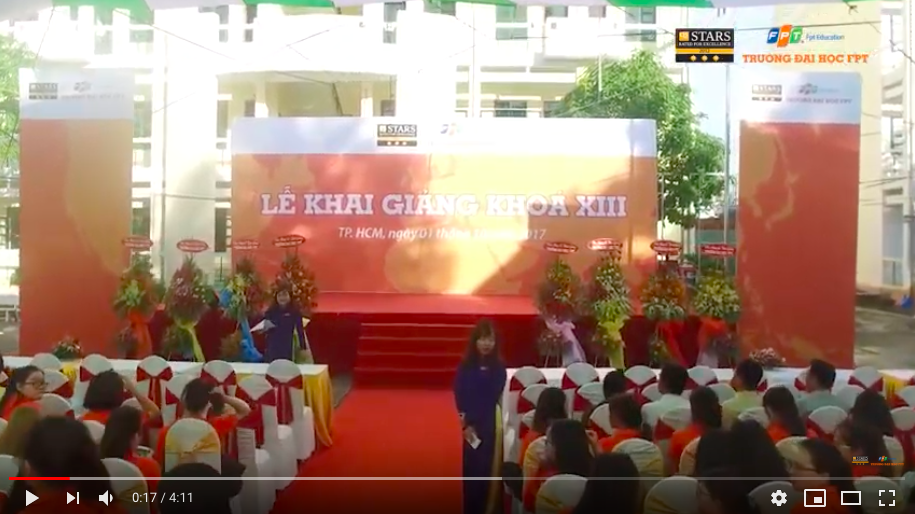 Opening Ceremony of FPT University in 2018