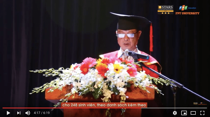 Graduation Ceremony of FPT University