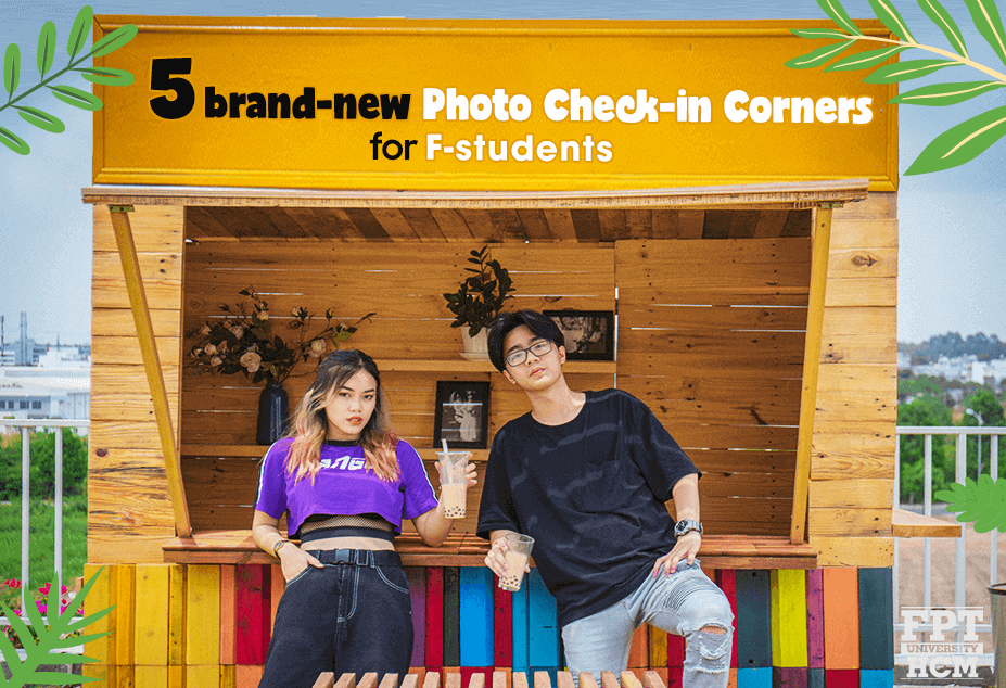 "5 brand-new ""check in"" corners for F-students"