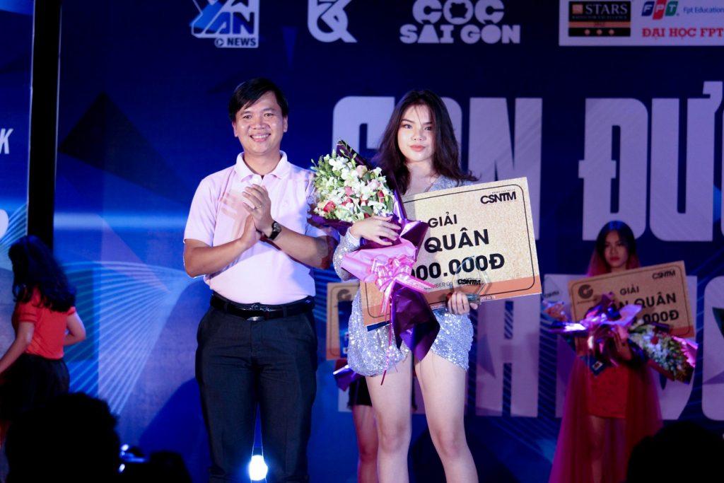 Danh hiệu Quý quân đã thuộc về thí sinh Nguyên Thị Hằng.
