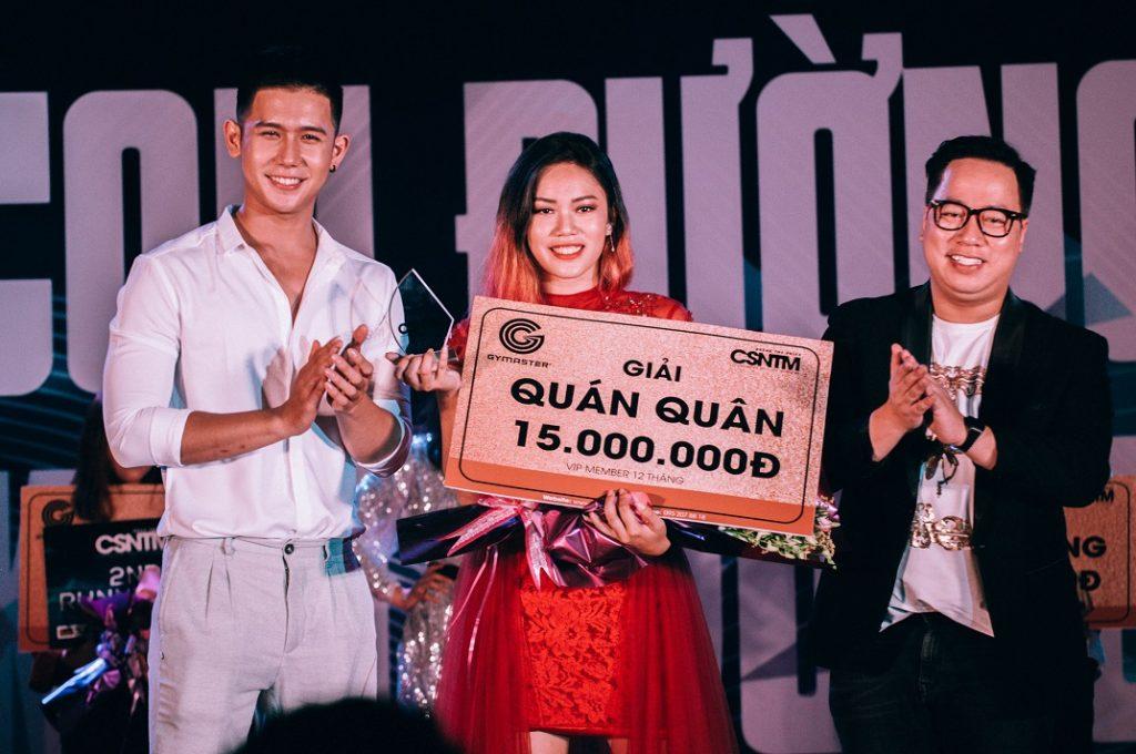 Danh hiệu cao quý nhất cuộc thi – giải Quán Quân đã thuộc về thí sinh Châu Bích Trâm.