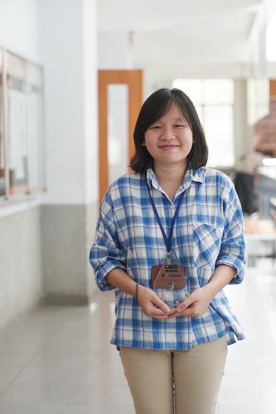 Nguyễn An Thơ – Cóc vàng kỳ Summer 2018 ngành Ngôn ngữ Nhật.