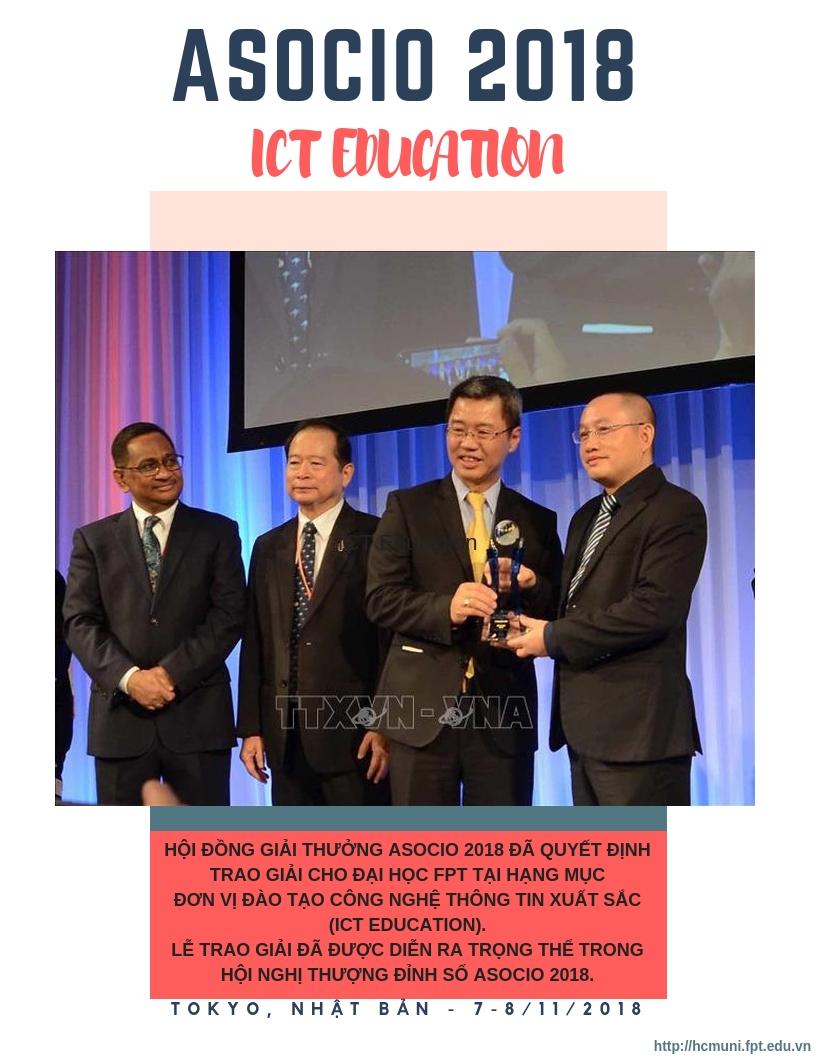 ĐH FPT TP.HCM dấu ấn tháng 11 (1) ASOCIO